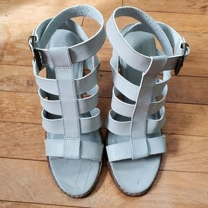 Urban Outfitters Light Gray Sandal Heel